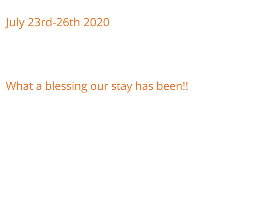 July 23rd-26th 2020