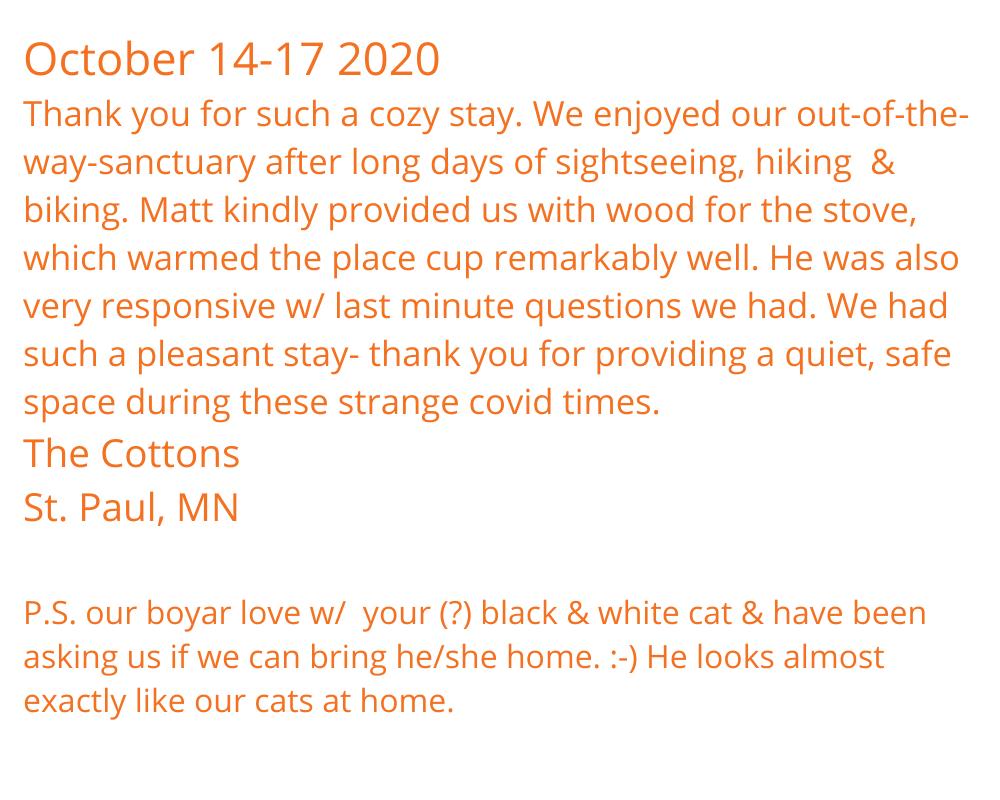 October 14-17 2020